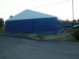 Furniture storage hall 15x33x3.5m Lithuania, Nemencine