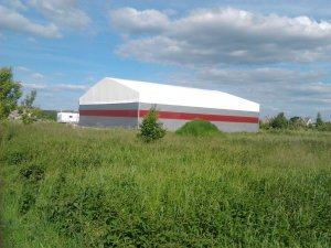 Industrial filters productions and storage hall 20x21x4m Lithuania, Kaunas